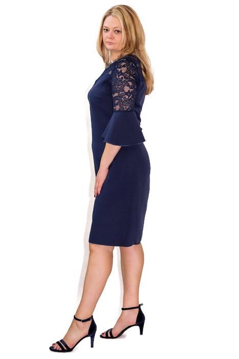 elegancka-sukienka-plus-size-xl-xxl-40-60-na-wesele-dla-puszystych-PAOLA-granatowa-modna-bok