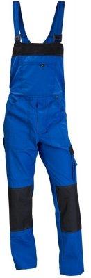 Spodnie ogrodniczki WORK - niebieskie