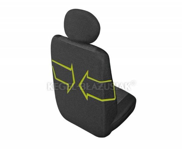 Pokrowiec ARES DV1 na przedni-prawy fotel rozm. M