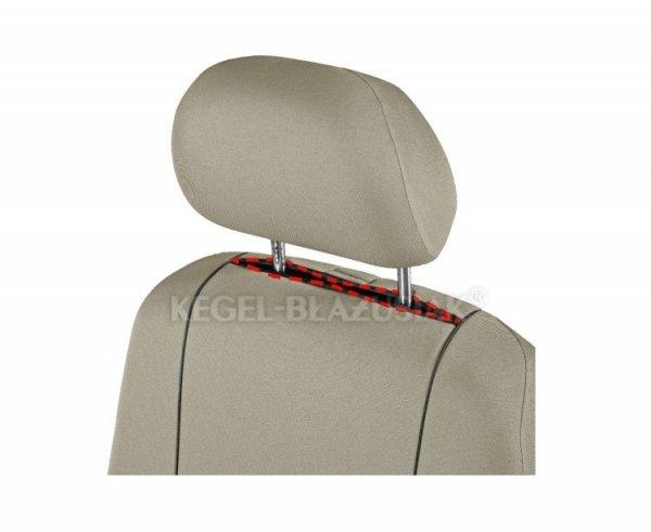 Pokrowiec HERMAN Beige na przednie fotele rozm. XL