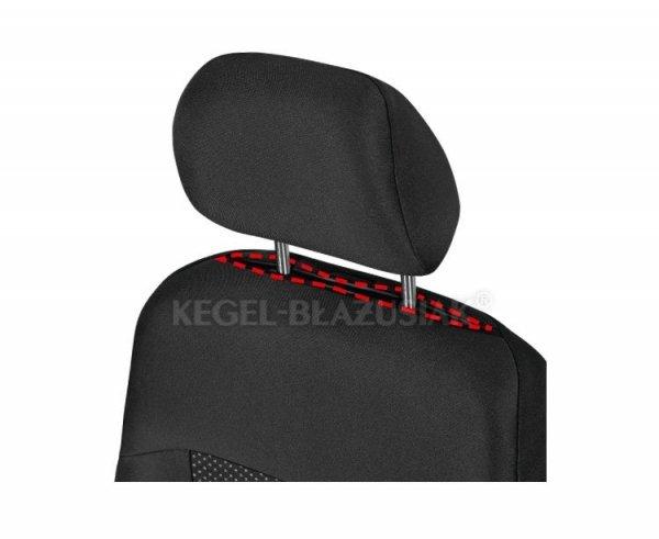 Pokrowiec Poseidon Black na przednie fotele rozm. XL