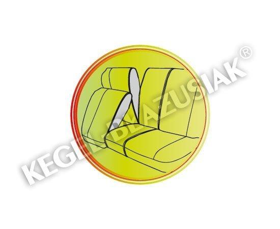 Pokrowiec PRACTICAL na przednie fotele rozm.L