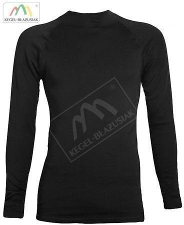 Koszulka TERMOAKTYWNE BASIC długi rękaw-czarne