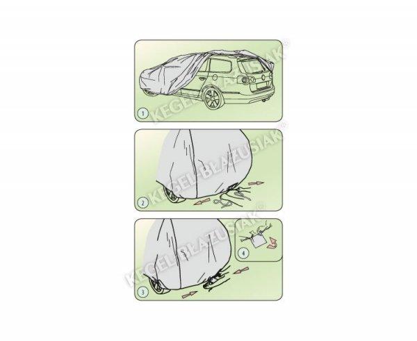 Pokrowiec na samochód MOBILE GARAGE roz. M sedan