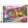TREFL Puzzle 1500 el. Na złotych brzegach (26158)