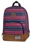 Plecak szkolny, miejski młodzieżowy COOLPACK CLASSIC kolorowe szlaczki SAHARA 1012 (72052)