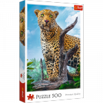 TREFL Puzzle 500 el. Dziki lampart (37332)