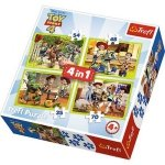 TREFL Puzzle 4 w 1 Toy Story, Ekipa zabawkowa (34312)