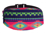 SASZETKA NERKA CoolPack na pas torba MADISON w kolorowe zygzaki, BOHO ELECTRA 788 (74315)