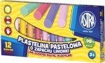 Plastelina 12 kolorów o zapachu limonki ASTRA (303114001)