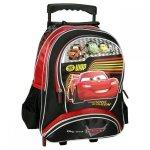 Plecak szkolny na kółkach Cars Auta, licencja Disney (PLK16CA20)