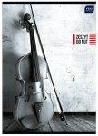 Zeszyt do nut muzyki w pięciolinię A4 PIONOWY, INTERDRUK