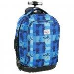 Plecak szkolny młodzieżowy na kółkach (PLM19KB37)