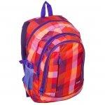 Plecak szkolny młodzieżowy wzór KRATA (151827A)