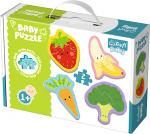 TREFL Puzzle BABY Warzywa i owoce (36076)