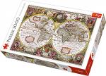TREFL Puzzle 2000 el. Mapa Ziemi, 1630 (27095)