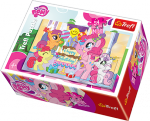 TREFL Puzzle mini 54 el. My Little Pony, Kucyki na urodzinach (19466)