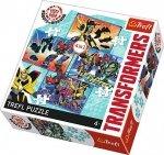 TREFL Puzzle 4 w 1 Czas na transformacje, TRANSFORMERS (34287)