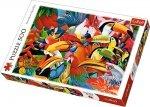 TREFL Puzzle 500 el. Kolorowe ptaki (37328)