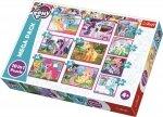 TREFL Puzzle 10 w 1 My Little Pony, Magiczny świat kucyków (90353)