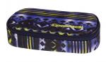 Piórnik szkolny COOLPACK CAMPUS niebiesko - żółte wzory, TIE DYE BLUE 741 (73097)