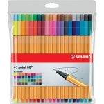 Cienkopisy pisaki STABILO 40 kolorów (8840-1)