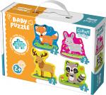 TREFL Puzzle BABY Zwierzątka leśne (36077)