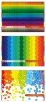 Blok techniczny A3 KOLOROWY BARWIONY W MASIE  kolorowe kartki (70811)