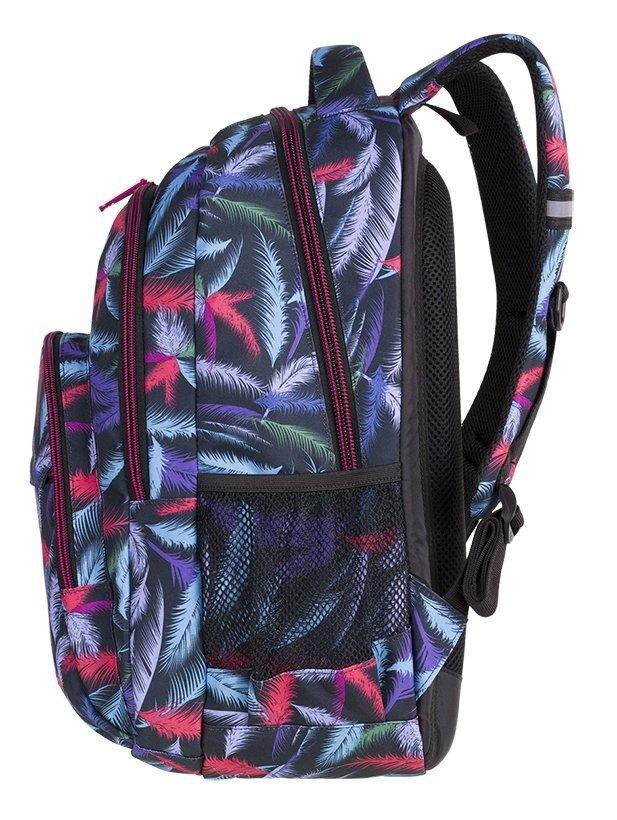 5c2e7552998d3 Plecak szkolny młodzieżowy COOLPACK BASIC PLUS w kolorowe pióropusze ...