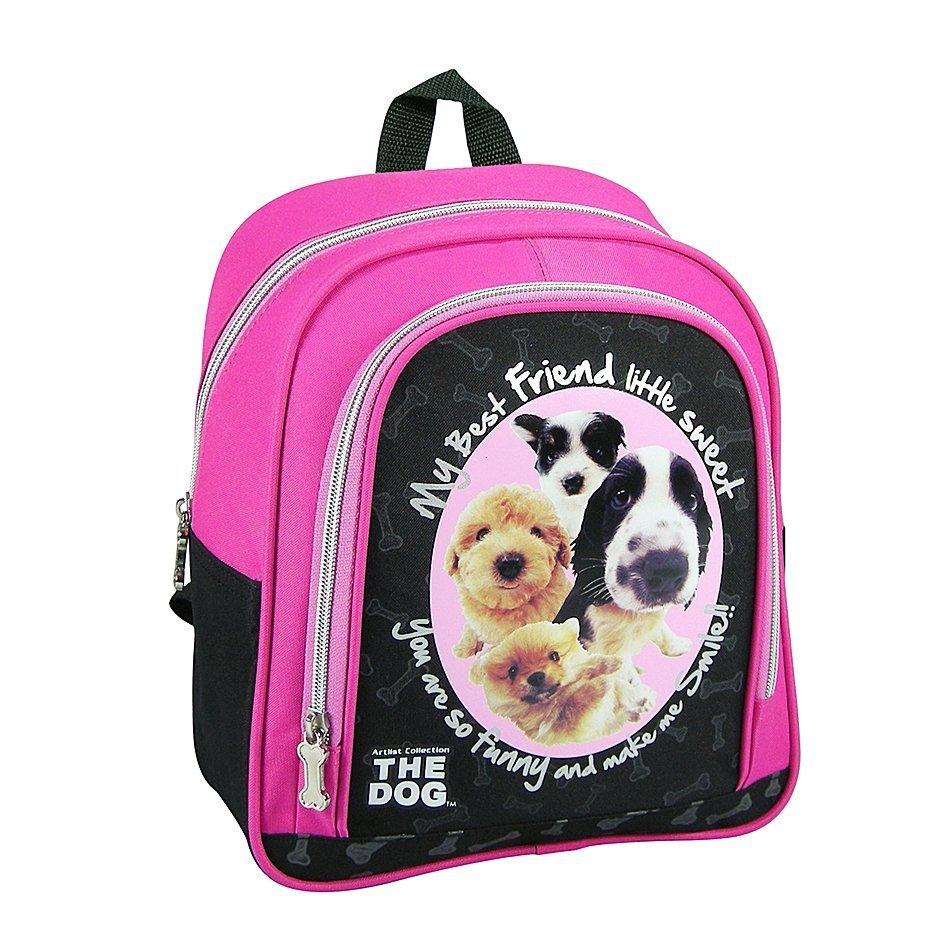 60e8369d113e3 ZESTAW 2 el. Plecaczek przedszkolny, wycieczkowy THE DOG z psem ...