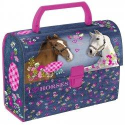 Kuferek oklejany I Love Horses KONIE (KOKO02)
