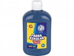 Farba szkolna NIEBIESKA CIEMNA 500 ml ASTRA (40104)
