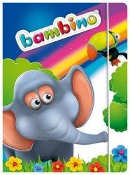 Teczka rysunkowa A4 z gumką BAMBINO (01758)