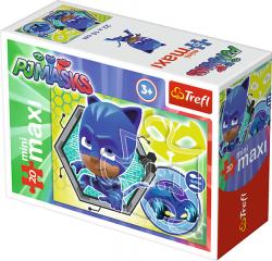 TREFL Puzzle miniMaxi 20 el. PJ MASKS Pidżamersi KOTBOY (21041)