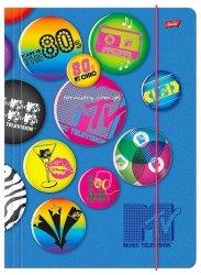 Teczka rysunkowa A4 z gumką MTV (91913)