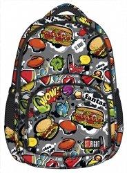 Plecak szkolny młodzieżowy ST.RIGHT FAST FOOD BP23 (17126)