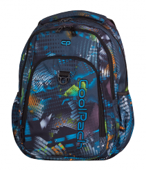 Plecak szkolny młodzieżowy COOLPACK STRIKE gra świateł, LIGHTS SPLASH 813 (75138)