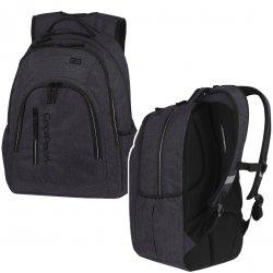 Plecak CoolPack MERCATOR PLUS SNOW BLACK/ SILVER czarny 31L (88664)