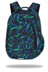 Plecak wczesnoszkolny CoolPack PRIME 23 L smugi, INFRAGREEN (C25250)