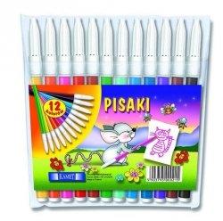 Pisaki zmywalne FUN 12 kolorów, KAMET