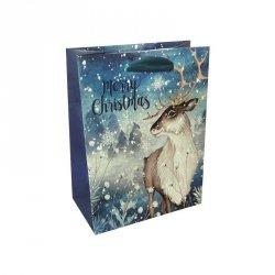 Torebka świąteczna na prezent RENIFER Incood. (0071-0232)