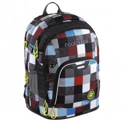 Plecak szkolny Coocazoo RayDay MatchPatch, Checkmate (139270)