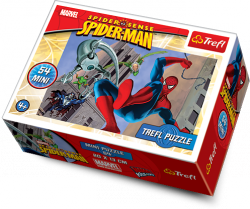 TREFL Puzzle mini 54 el. Spider Man (19375)