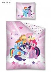 Komplet pościeli pościel My Little Pony Kucyki 160 x 200 cm (MLP38)