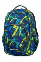 Plecak CoolPack BASIC PLUS w żółte wzory, ABSTRACT YELLOW (B03007)
