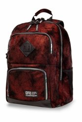 Plecak CoolPack UNIT czerwony, DIAMOND BRICK (B32077)