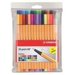 Cienkopisy pisaki STABILO 30 kolorów (8830-1)