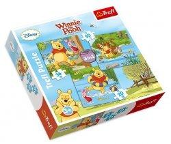TREFL Puzzle 3 w 1 Pobawmy się, KUBUŚ I PRZYJACIELE (34106)