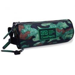 Piórnik CoolPack OMNI tuba saszetka trzykomorowa zielone moro, Camo Fusion Green (B68095)