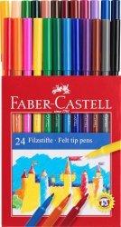 Pisaki FABER CASTELL ZAMEK zmywalne 24 kolory (FC554224)